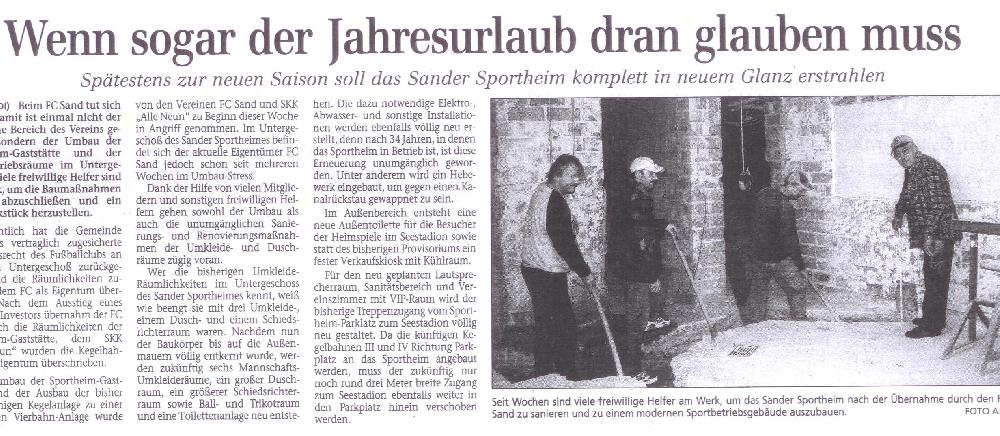 FC Sand korbmacher11 verein historie 1627927580
